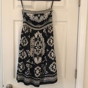 White House Black Market Silk dress, Size 0